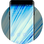 Abstract Blue Theme icon