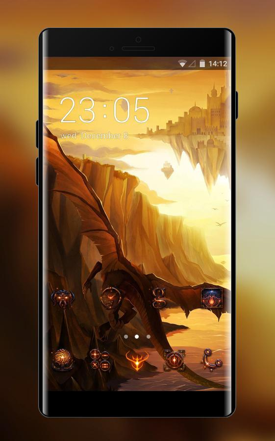 3d Flying Dragon Theme Gaming Wallpaper For Android Apk