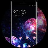 Cool Fantasitic Jellyfish Galaxy Theme for Lenovo icon