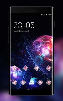 Cool Fantasitic Jellyfish Galaxy Theme for Lenovo poster