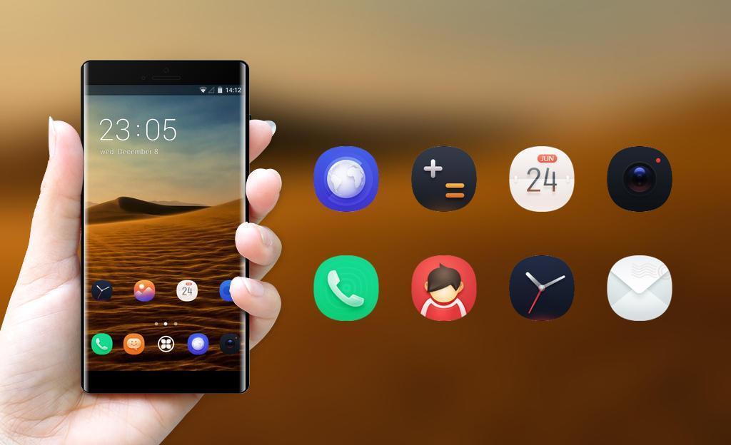 Theme For Cool Desert Sunset Wallpaper For Android Apk
