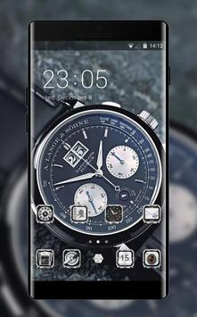 Cool theme wallpaper a lange and sohne watch poster