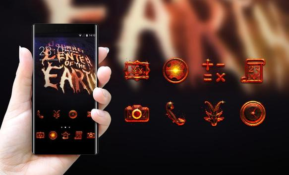 Cool theme monster colorful, brilliant abstract, apk screenshot