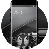 Cool theme wallpaper mechanism background light icon