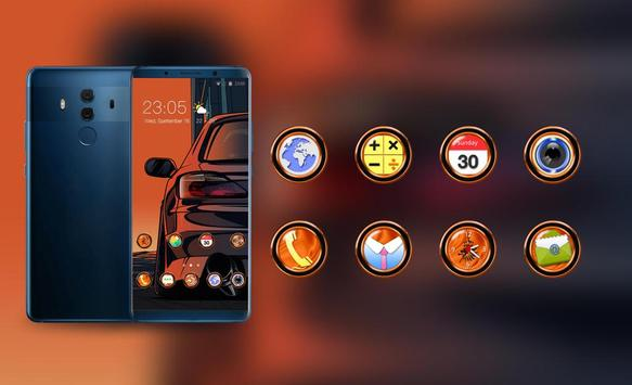 Theme for car abstract hand draw wallpaper screenshot 3
