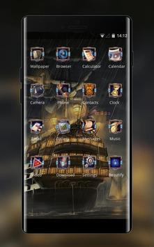 Theme for cartoon ship wallpaper screenshot 1