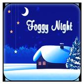 Christmas Snow Night icon