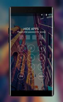 City Theme: Romantic Sunset Wallpaper & Icons HD apk screenshot