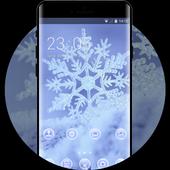 Snow winter theme for Mi A1 snowflake wallpaper icon