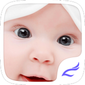 Cute Baby Theme icon