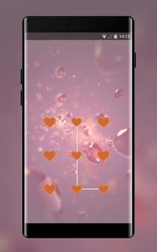 Lock theme for cute pink softy jio phone design poster