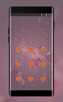 Lock theme for cute pink softy jio phone design screenshot 1