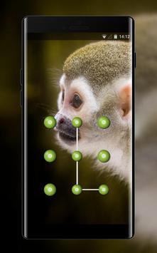 Cute theme squirrel monkey space interstellar poster