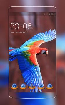 Blue Bird Theme: Amazing Nature Wallpaper HD poster