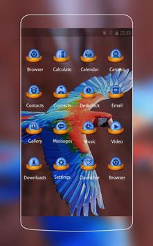 Blue Bird Theme: Amazing Nature Wallpaper HD screenshot 1
