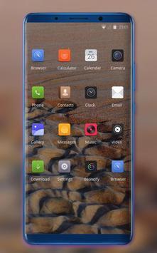 Theme for OPPO realme 2 sand beach wallpaper screenshot 1