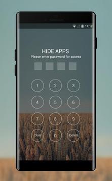 Theme for  fall rye sky field wallpaper apk screenshot
