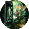 Anime Girl Fairy Princess Girl theme:Nature Jungle