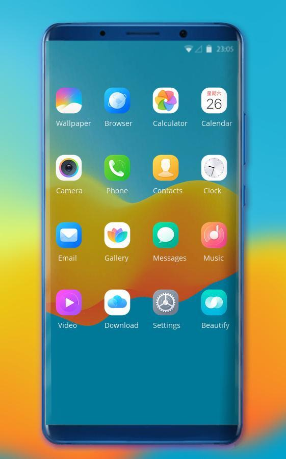 Colorful theme | wallpaper for oppo realme 2 pro for Android - APK