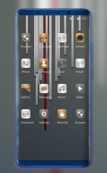 Theme for Mi Redmi Metal stripe simple wallpaper screenshot 1