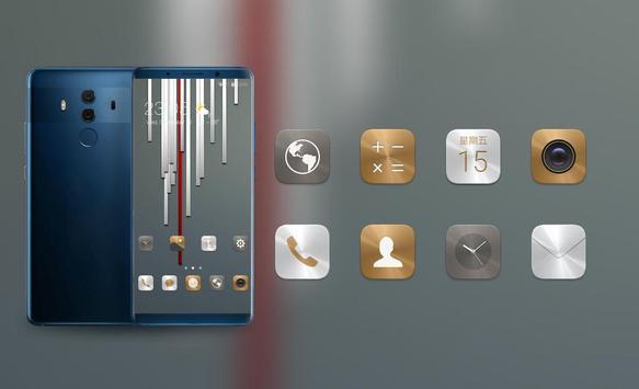 Theme for Mi Redmi Metal stripe simple wallpaper screenshot 3
