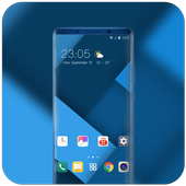 Theme for Oppo R17 Pro simple speacial wallpaper icon