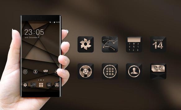 Abstract theme Brown design business wallpaper screenshot 3