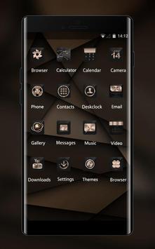 Abstract theme Brown design business wallpaper screenshot 1