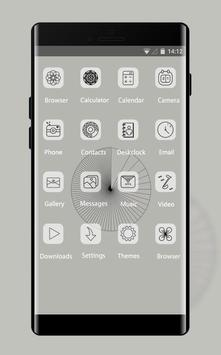 Abstract theme af31 12 slides minimal art design apk screenshot