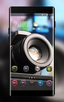 Theme for motorola moto g6 camera poster