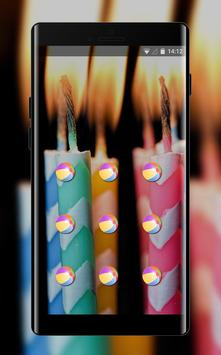 Abstract theme candles with stripes hmm space screenshot 1