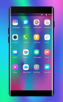 Theme for Vivo V9 X21 colorful art design change screenshot 1