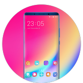 Theme for Elephone A4 Pro color simple wallpaper icon