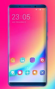 Theme for Elephone A4 Pro color simple wallpaper poster