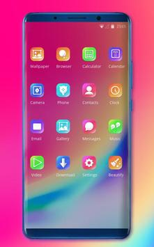 Theme for Elephone A4 Pro color simple wallpaper screenshot 1