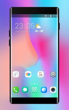 Theme for Vivo V9 X21 colorful simple wallpaper poster