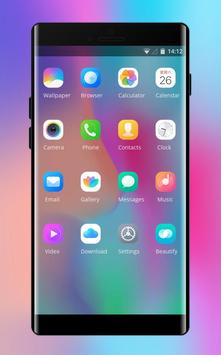 Theme for Vivo V9 X21 colorful simple wallpaper screenshot 1