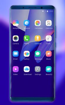 Theme for Elephone A4 Pro colorful wallpaper screenshot 1