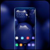 Theme for Xiaomi Mi 8 Pro Glass ball wallpaper icon