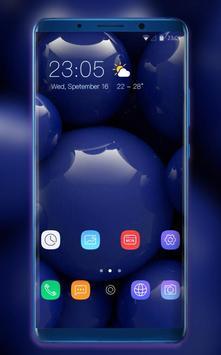 Theme for Xiaomi Mi 8 Pro Glass ball wallpaper poster