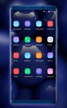 Theme for Xiaomi Mi 8 Pro Glass ball wallpaper screenshot 1