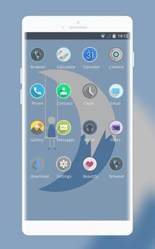 Theme for abstract pure illustration wallpaper screenshot 1