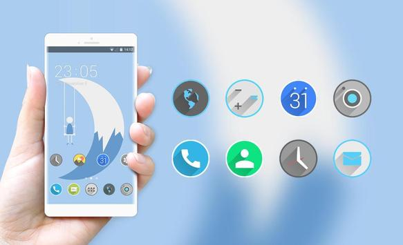 Theme for abstract pure illustration wallpaper screenshot 3