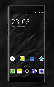 matte black theme for Samsung Galaxy A5 HD poster