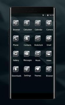 Abstract theme dark pattern daily apk screenshot