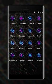Abstract theme wallpaper colorful universe apk screenshot