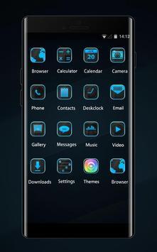 Abstract theme dark line digital graphic art apk screenshot