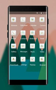 Theme for Mi A1 abstract trees drawing wallpaper screenshot 1