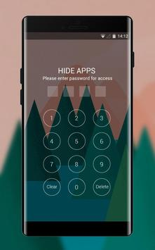 Theme for Mi A1 abstract trees drawing wallpaper screenshot 2