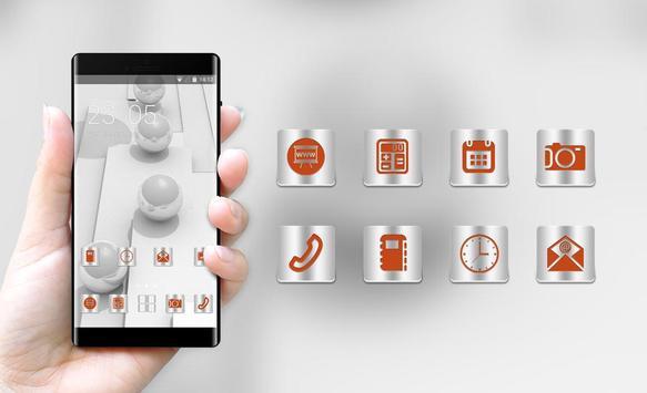 Abstract theme wallpaper balls surface white 3d screenshot 3